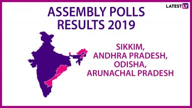 Assembly Poll Results 2019: Tally From Andhra Pradesh, Arunachal Pradesh, Odisha, Sikkim At 2:30 PM