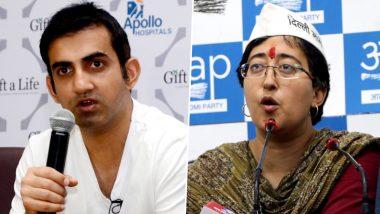 Pamphlet Row: Gautam Gambhir Sends Defamation Notice to Atishi, Arvind Kejriwal, Manish Sisodia