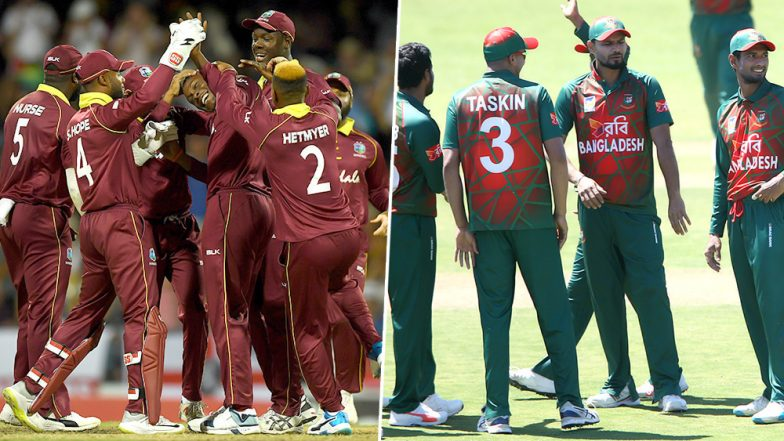 Live Cricket Streaming of Bangladesh vs West Indies, Ireland Tri-Series 2019: Check Live Cricket Score, Watch Free Telecast of BAN vs WI Final ODI on Gazi TV Online