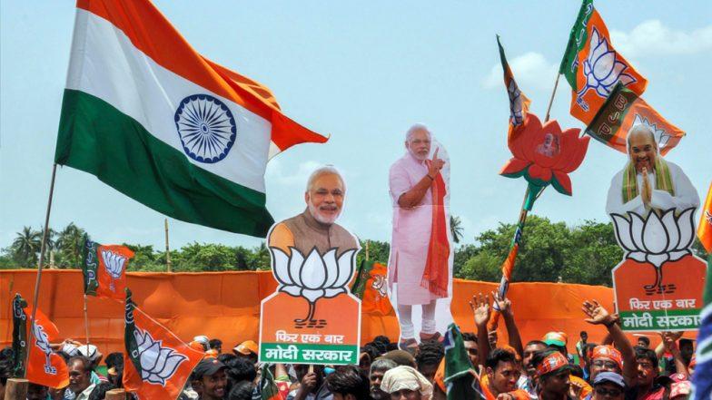 BJP Sweeps North India Except For Punjab, Set To Win All Lok Sabha Seats in Haryana, Delhi, Most in Uttar Pradesh, Jammu And Kashmir