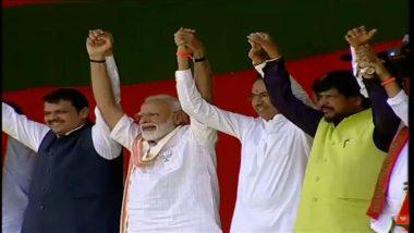 IANS-CVoter Exit Poll Results for Maharashtra: NDA Projected to Win 34 Seats in Lok Sabha Elections 2019