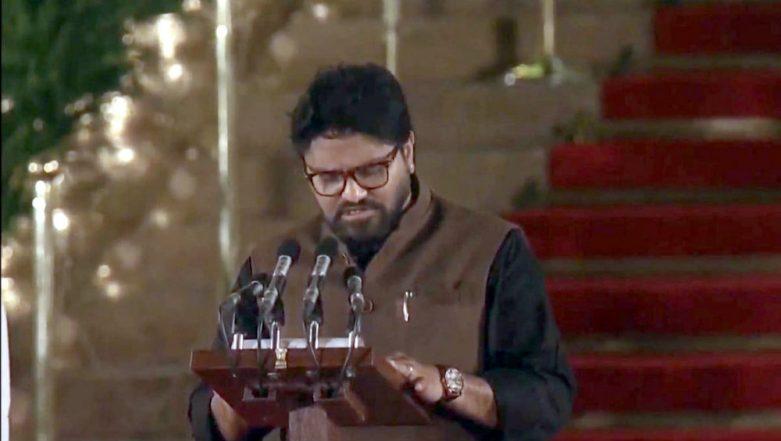 Babul Supriyo Takes Oath As Union Minister in PM Narendra Modi's Cabinet