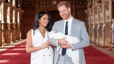 First Picture of Royal Baby Sussex is Here: Prince Harry and Meghan Markle Pose With Their Bundle of Joy (View Pic)