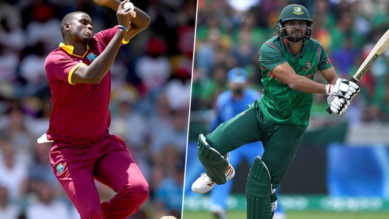 Live Cricket Streaming of Bangladesh vs West Indies, Ireland Tri-Series 2019: Check Live Cricket Score, Watch Free Telecast of BAN vs WI 5th ODI on Gazi TV Online
