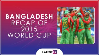 Ahead of ICC Cricket World Cup 2019, Here's a Look Back at How Bangladesh Fared at the Last Edition of the CWC