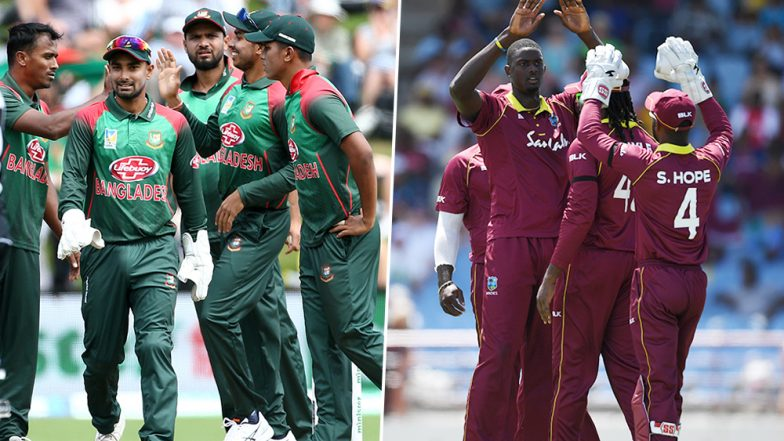 Live Cricket Streaming of Bangladesh vs West Indies, Ireland Tri-Series 2019: Check Live Cricket Score, Watch Free Telecast of BAN vs WI 2nd ODI on Gazi TV Online