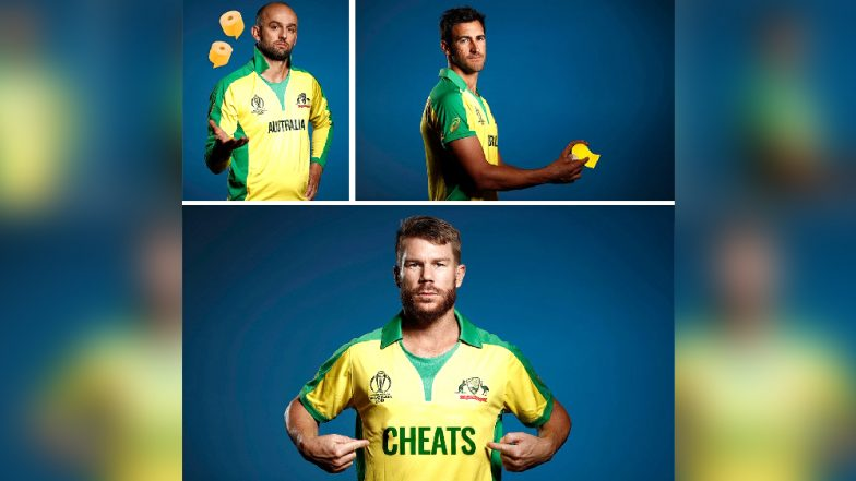 ICC Cricket World Cup 2019: England's Barmy Army Trolls David Warner and Australian Team, Label Them as 'CHEATS' Ahead of the Tournament