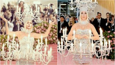 Surbhi Chandna Gives Katy Perry's Chandelier Outfit from Met Gala 2019 a Twist - View Pic!