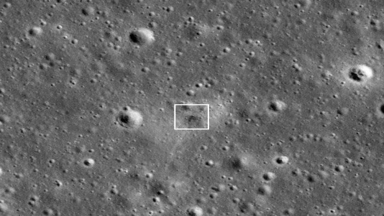 NASA Spots Israeli Beresheet Spacecraft's Crash Site on Moon