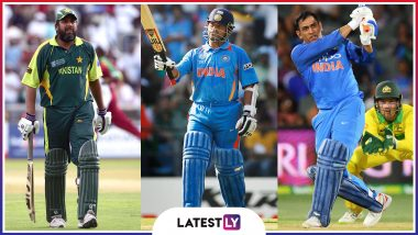 Ahead of ICC Cricket World Cup 2019, Here's a Look at Blistering Knocks by Inzamam-Ul-Haq, MS Dhoni, Sachin Tendulkar and Others at CWC Over the Years (Watch Videos)