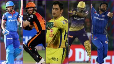 Best Playing 11 From IPL 2019 – David Warner-Shikhar Dhawan As Openers, Andre Russell As All-Rounder in MS Dhoni-Captained Side