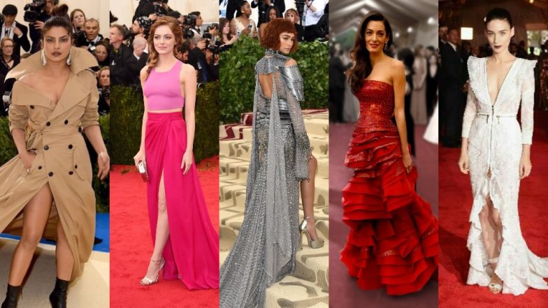 Best Dressed Celebs at Met Gala From the Past Decade: Rihanna, Zendaya, Scarlett Johansson, Priyanka Chopra, Check Best Ensembles at the Met Gala Red Carpet