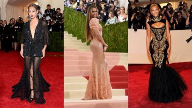 Best Of Beyonce From Met Gala: How Queen Bey Continues To Prove That Her Style Game At The Red Carpet Is Ultra Cool!