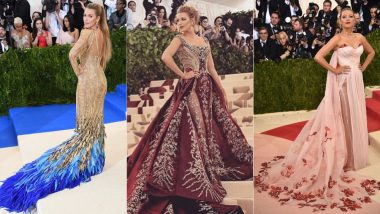 Best Of Blake Lively From Met Gala: Check Out Some Of The Most Sublime Red Carpet Looks By The Self-Styled Actress!