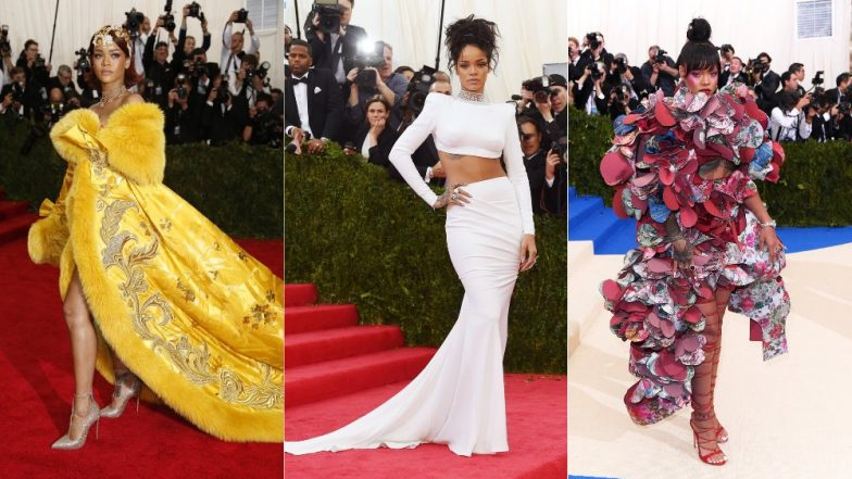 Best Of Rihanna From Met Gala: Check Out Some Of Her Outlandishly Gorgeous Looks From The Red Carpet!