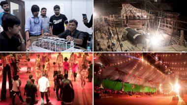 Bharat BTS Video: Salman Khan and Ali Abbas Zafar Replicate the Grand Russian Circus That Redefined the '60s Era!
