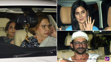 Bharat: Salman Khan's Mom Salma, Katrina Kaif, Sunil Grover and Others Attend Special Screening of Ali Abbas Zafar's Film – See Pics