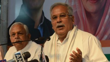 'Manohar Lal Khattar Has Lost His Mental Balance': Chhattisgarh CM Bhupesh Baghel on 'Dead Rat' Remark Against Sonia Gandhi