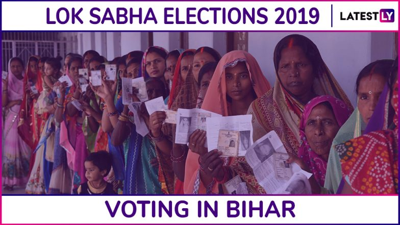 Bihar Lok Sabha Elections 2019: Phase 6 Voting Ends in Valmiki Nagar, Vaishali, Siwan & 5 Other Constituencies; 55.04% Voter Turnout Recorded