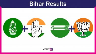 Bihar General Election Results 2019: BJP Led NDA Registers Landslide Victory, Wins 38 Out of 40 Seats in State
