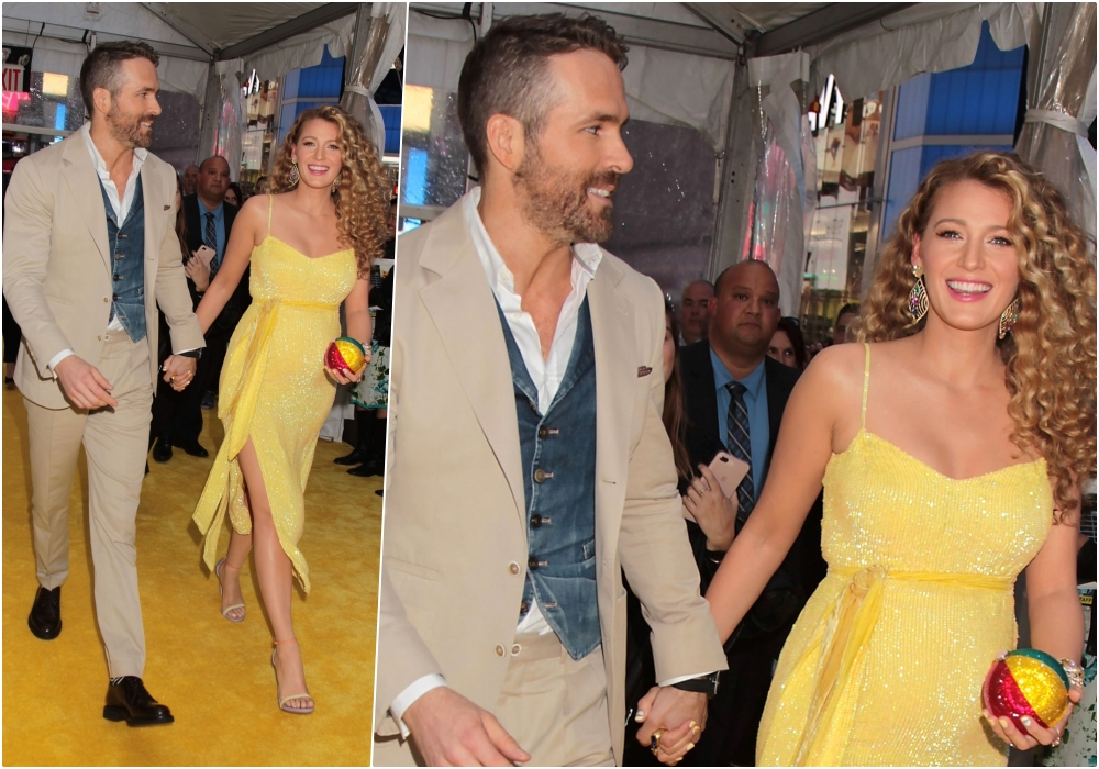 3c5fa0fac1cf5 Actress Blake Lively With Husband and Actor Ryan Reynolds (Photo Credits:  IANS)