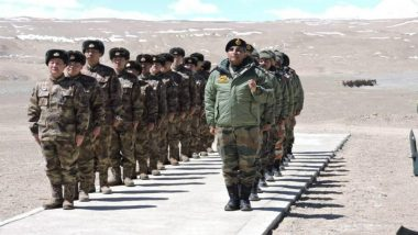 Indian and Chinese Army Border Personnel Meet Held in Ladakh
