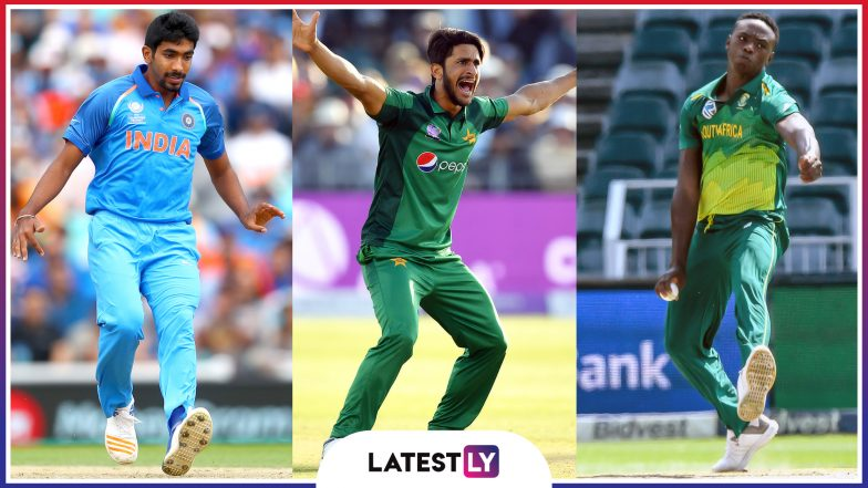 ICC Cricket World Cup 2019: Jasprit Bumrah, Hasan Ali, Kagiso Rabada and Other Pacers Can Push Batsmen on the Backfoot