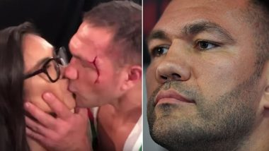 Bulgarian Boxer Kubrat Pulev Who Kissed Reporter on Cam Suspended for 4 Months, Fined $2,500 and Asked to Attend Sexual Harassment Class