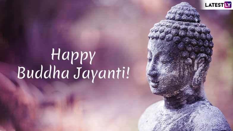 Buddha Purnima 2019 Wishes and Messages: Vesak Day WhatsApp Stickers, GIF Images, SMS, Quotes to Send Happy Buddha Jayanti Greetings