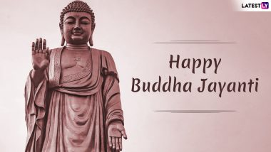 Happy Buddha Jayanti 2019 Greetings: WhatsApp Stickers, GIF Images, Vesak Day Quotes and Messages to Send Buddha Purnima Wishes