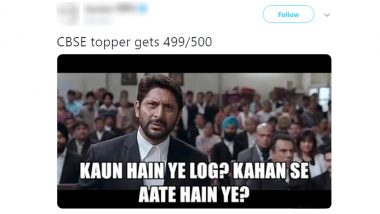 Funny Memes on CBSE Exam Class 12 Results: Twitterati Hails The Merit Toppers With Hilarious Jokes