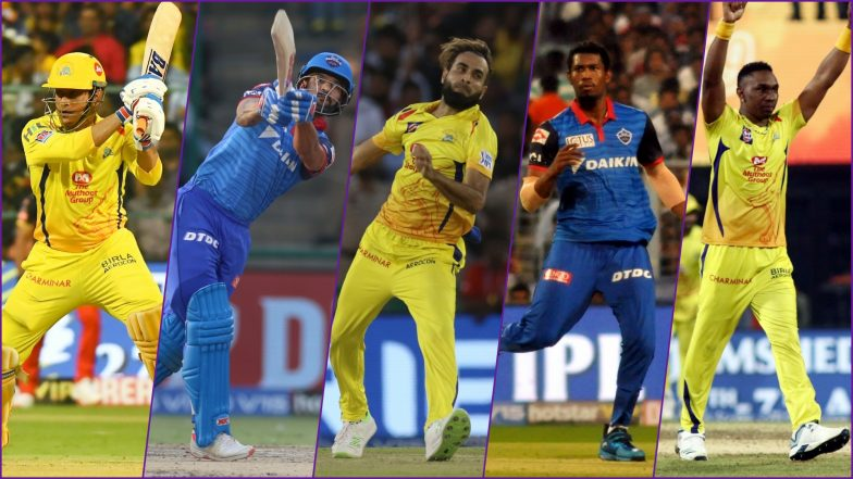 Chennai Super Kings vs Delhi Capitals Dream11 Squad: Best Picks for All-Rounders, Batsmen, Bowlers & Wicket-Keepers for IPL 2019 Qualifier 2 Match