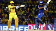 Chennai Super Kings vs Mumbai Indians Betting Odds: Free Bet Odds, Predictions and Favourites in CSK vs MI Dream11 IPL 2020 Match 41