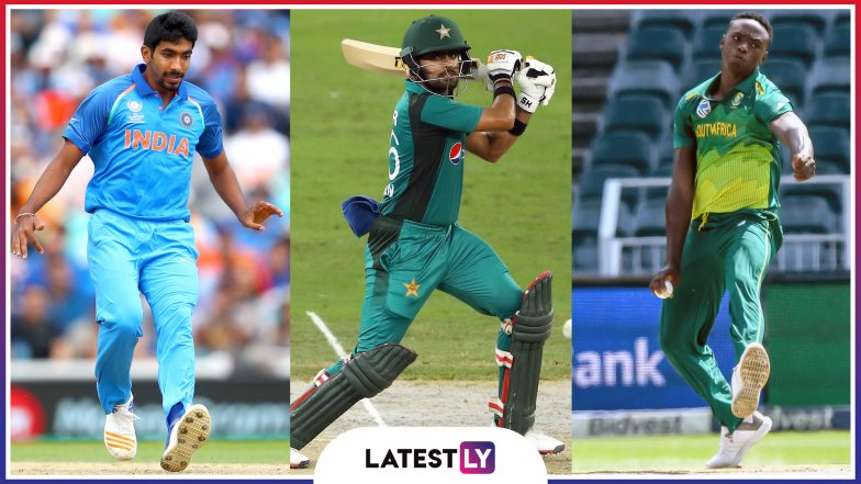 Debutants at ICC Cricket World Cup 2019: Jasprit Bumrah, Babar Azam, Kagiso Rabada & Other Young Stars to Look Forward to in CWC 2019