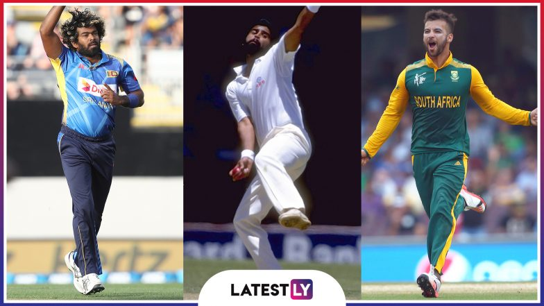 Ahead of ICC Cricket World Cup 2019, Here's Look at Hat-Tricks From Chetan Sharma, Lasith Malinga, JP Duminy & Other Players Over The Years in CWC
