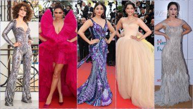 Cannes 2019 Schedule and Lineup for Indian Celebs: On Which Dates Will Priyanka Chopra, Aishwarya Rai Bachchan, Hina Khan, Sonam Kapoor, Deepika Padukone Walk the Red Carpet?