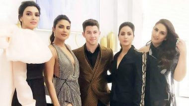 Cannes 2019: Nick Jonas Happily Poses with Priyanka Chopra and Her Desi Girls - Hina Khan, Diana Penty and Huma Qureshi
