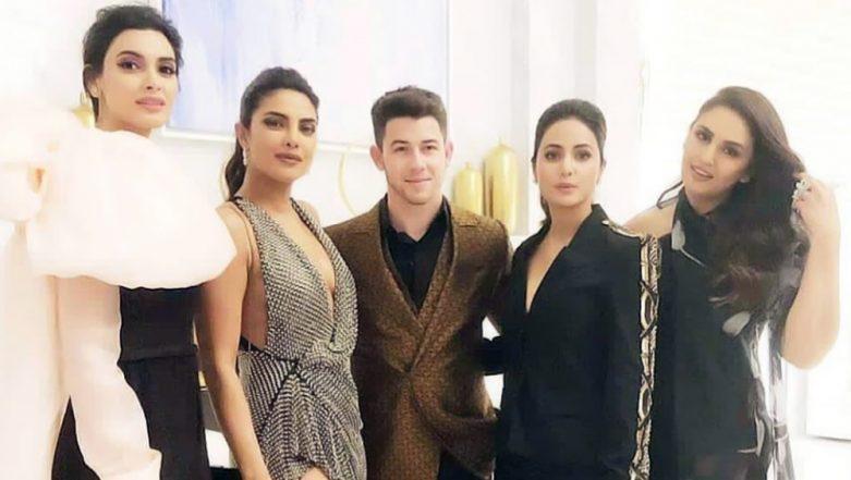 Cannes 2019: Nick Jonas Happily Poses with Priyanka Chopra and Her Desi Girls - Hina Khan, Diana Penty and Huma Qureshi