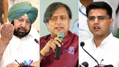 Who Can Replace Rahul Gandhi As Congress President? From Captain Amarinder Singh to Shashi Tharoor, Here Are Names Doing The Rounds After Party's Lok Sabha Elections 2019 Debacle