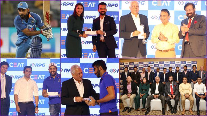 CEAT Cricket Rating Award 2019 Winners' List: Virat Kohli and Smriti Mandhana Bag International Cricketer of the Year Awards