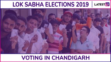 Chandigarh Lok Sabha Elections 2019: Phase 7 Voting Ends For Chandigarh Parliamentary Constituency; 63.57% Voter Turnout Recorded