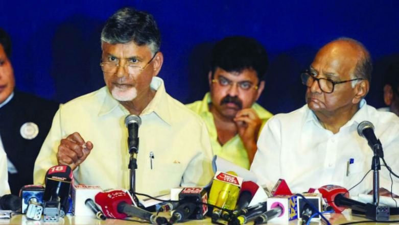 Andhra Pradesh CM Chandrababu Naidu to Meet Election Commission With 21 Opposition Party Leaders on Tuesday