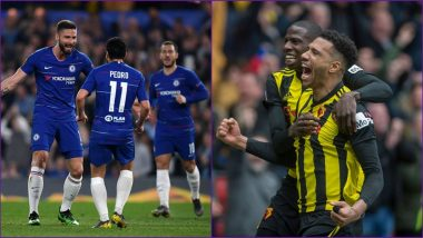 Chelsea vs Watford, EPL 2018–19 Live Streaming Online: How to Get Premier League Match Live Telecast on TV & Free Football Score Updates in Indian Time?
