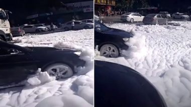 Mysterious Foam Emerges From Chinese City Sewers, Video Goes Viral