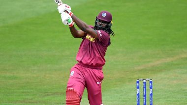 Chris Gayle Plays His Last World Cup Match! Watch 'Universe Boss' in Action During AFG vs WI, ICC Cricket World Cup 2019 Game