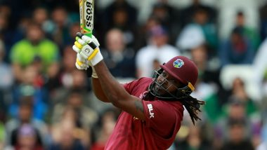 Chris Gayle Breaks AB de Villiers' Record of Most Sixes in ICC Cricket World Cups, Achieves Feat During PAK vs WI CWC 2019 Match