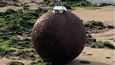 'Bomb' That Washed Up in Thames River, London Turns Out to be a Glittery Christmas Decoration