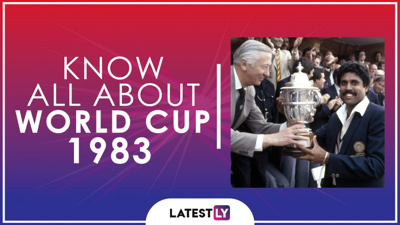 Know All About 1983 Cricket World Cup: History, Participants and Winner of the Third Edition of World Cup