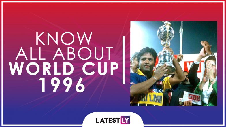 Know All About 1996 Cricket World Cup: History, Participants and Winner of the Sixth Edition of World Cup