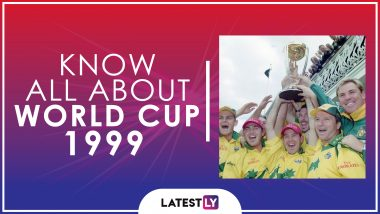 Know All About 1999 Cricket World Cup: History, Participants and Winner of the Seventh Edition of World Cup
